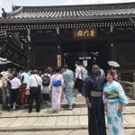 祇園祭・前祭の山鉾建て始まりました!2017年7月10日1