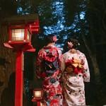 夜10時迄なので貴船神社七夕笹飾りライトアップへ♪2017年7月20日1