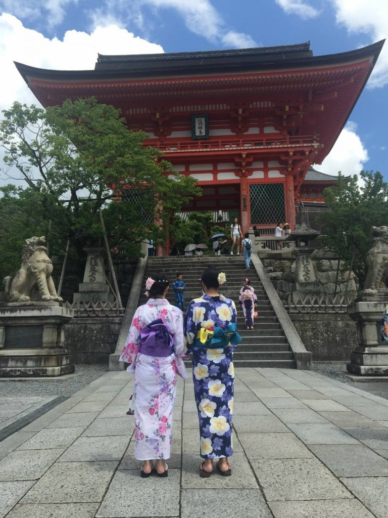 清水寺から貴船神社七夕笹飾りライトアップへ❣2017年7月21日1
