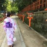 清水寺から貴船神社七夕笹飾りライトアップへ❣2017年7月21日3