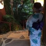 浴衣で貴船神社七夕笹飾りライトアップ大人気♪2017年7月26日5