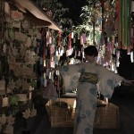 浴衣で貴船神社七夕笹飾りライトアップ大人気♪2017年7月26日8