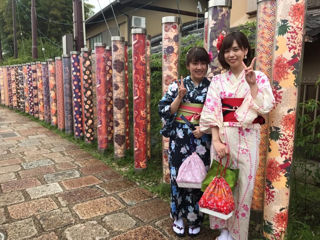 浴衣で夏の鈴虫寺へ♪2017年7月28日3