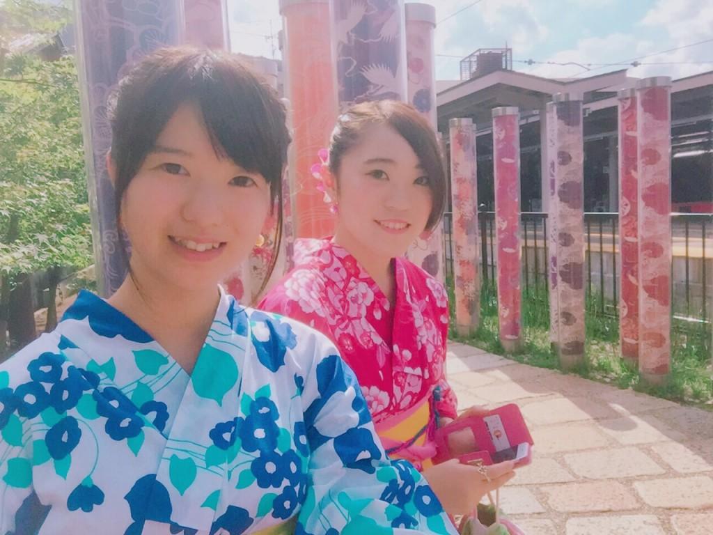 リピーター様❣今日は、池田屋と嵐山へ♪2017年8月1日5