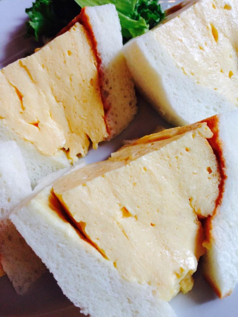 喫茶 la madrague(マドラグ)の玉子サンド3