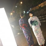 雨でしたが、夏夜の京都を満喫♪2017年8月10日4