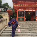 雨でしたが、夏夜の京都を満喫♪2017年8月10日6