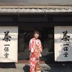 雨でしたが、夏夜の京都を満喫♪2017年8月10日11