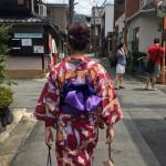 雨でしたが、夏夜の京都を満喫♪2017年8月10日13