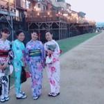 昼間は京都観光♪夜は鴨川納涼床へ❣2017年8月12日8