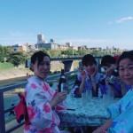 昼間は京都観光♪夜は鴨川納涼床へ❣2017年8月12日7