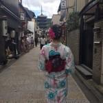 お盆休みで京都も賑わってます(^^♪2017年8月13日17