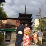 お盆休みで京都も賑わってます(^^♪2017年8月13日19