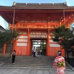 お盆休みで京都も賑わってます(^^♪2017年8月13日20