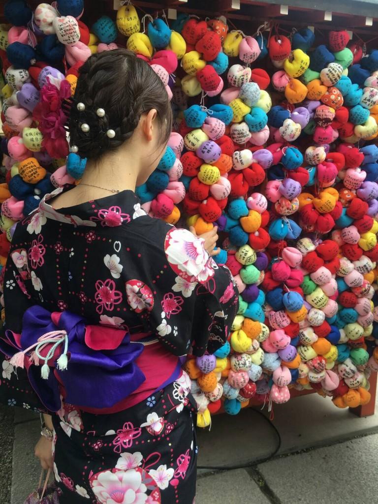 正寿院 ハート型 猪目窓(いのめまど)2017年8月22日16
