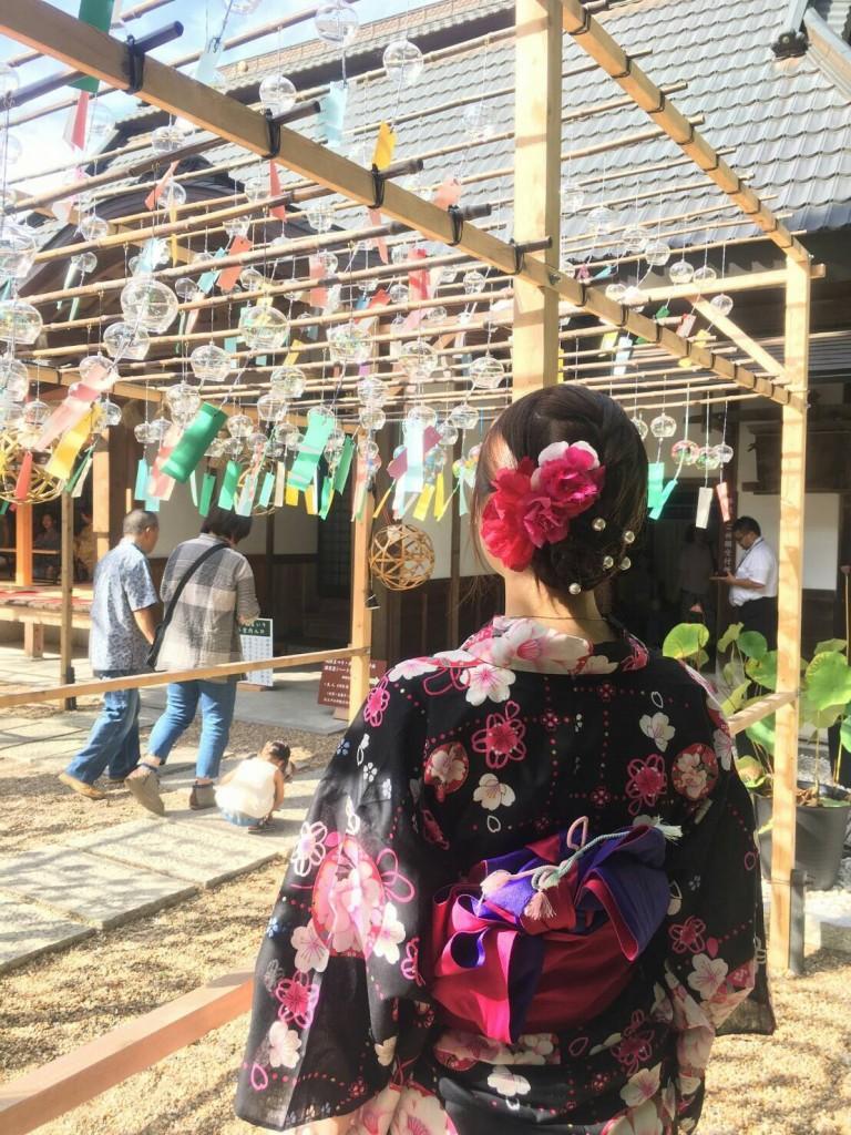 正寿院 ハート型 猪目窓(いのめまど)2017年8月22日18