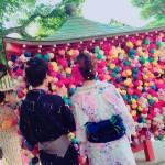 正寿院 猪目窓「幸せのおかげ」2017年8月24日3