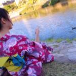8月最終日❣明日から着物レンタル開始(^^♪2017年8月31日5