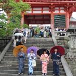 関東から中学修学旅行生浴衣レンタル♪2017年9月8日4