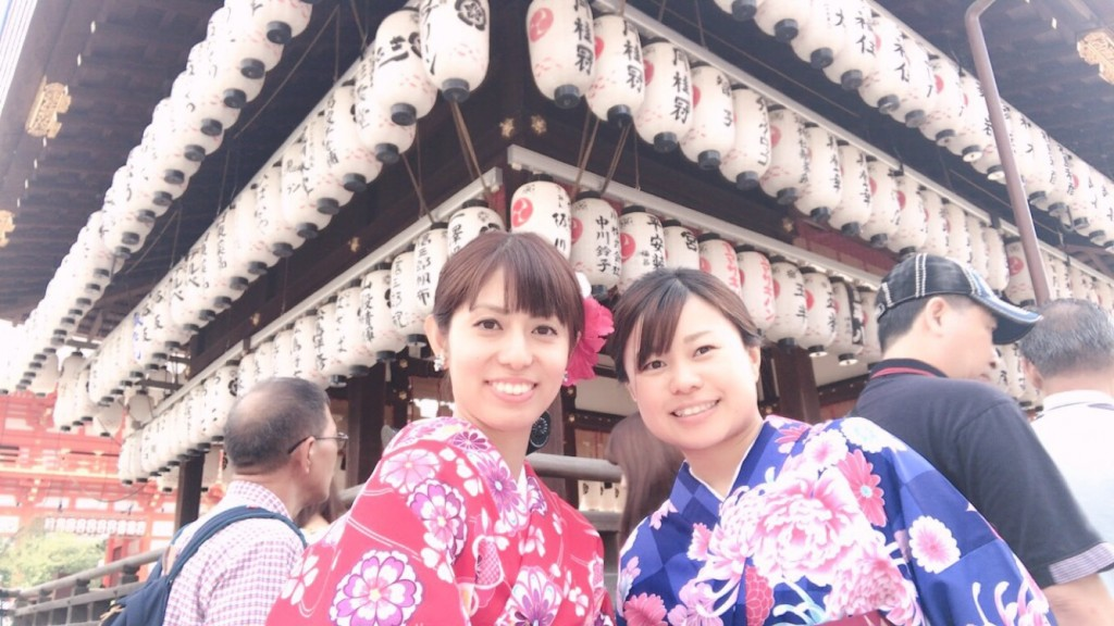女子高生♡八坂神社で縁結び❣2017年9月24日1