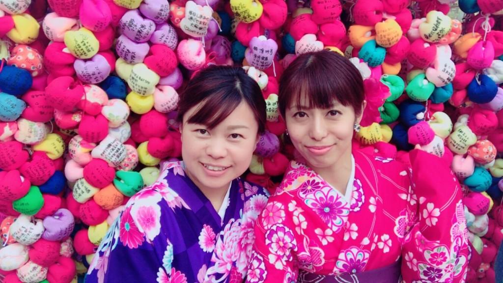 女子高生♡八坂神社で縁結び❣2017年9月24日2