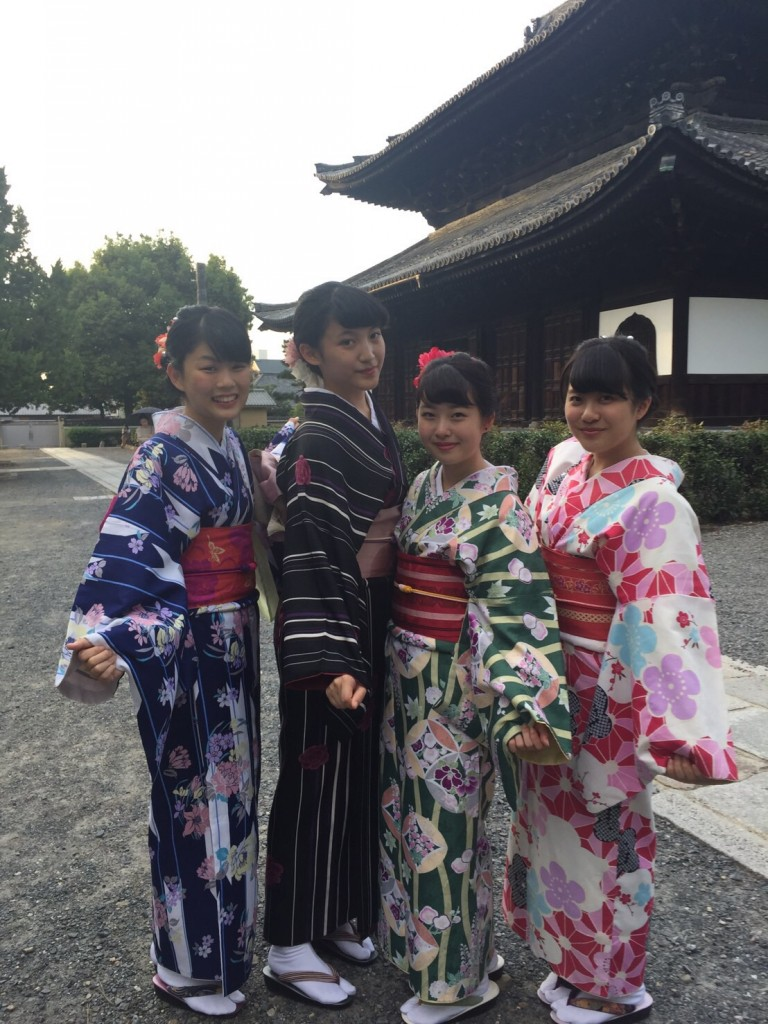 女子高生♡八坂神社で縁結び❣2017年9月24日4