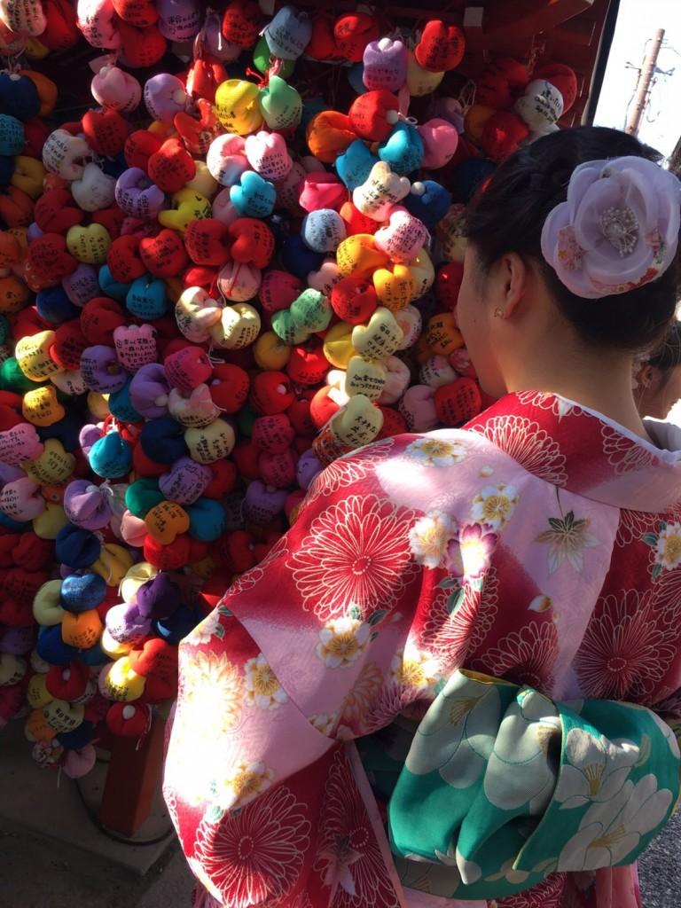 京都の風情ある街並みをバックに後ろ姿❣2017年9月26日2
