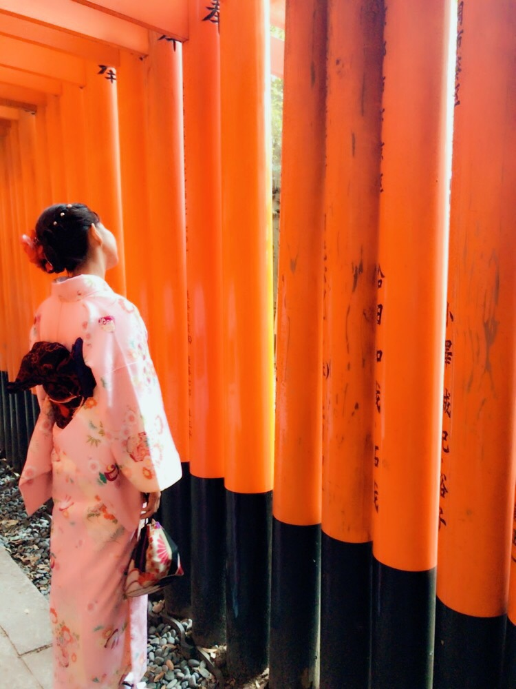写真映えする人気スポット 八坂庚申堂&伏見稲荷大社2017年10月18日1