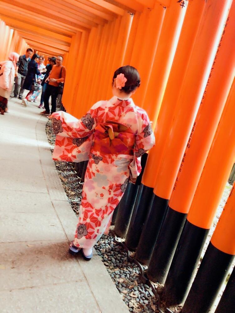 写真映えする人気スポット 八坂庚申堂&伏見稲荷大社2017年10月18日2