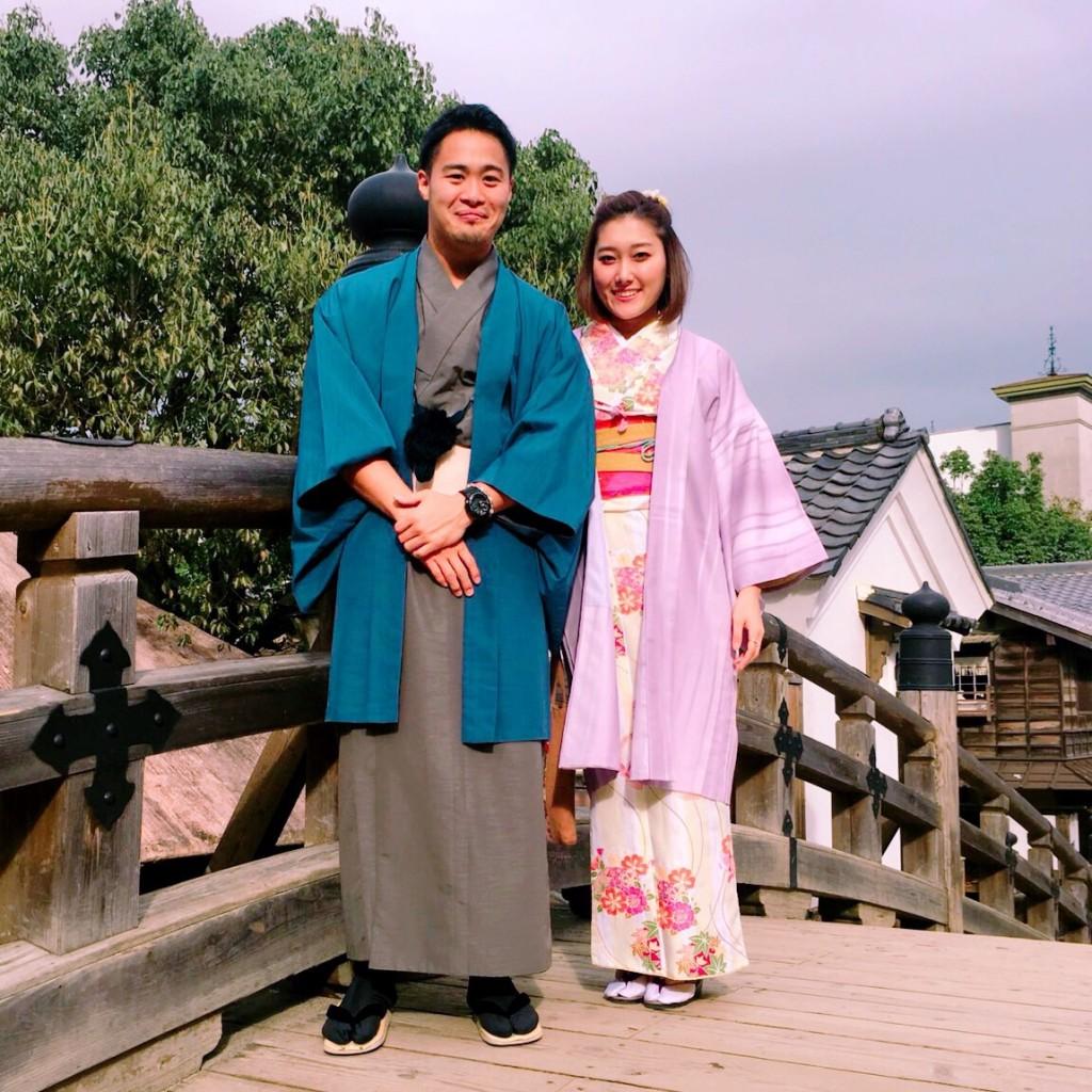 カップルで東映太秦映画村へ♪2017年10月24日1
