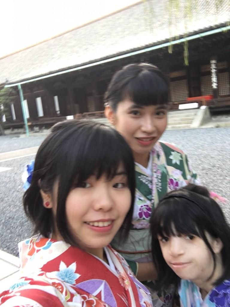 甘春堂で和菓子作り体験♪2017年10月27日7