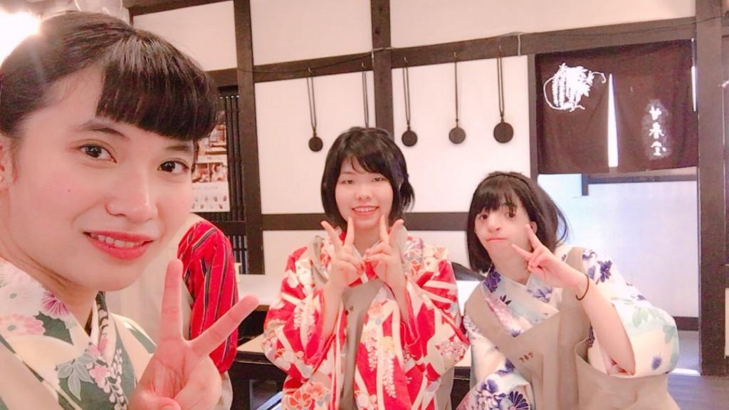 甘春堂で和菓子作り体験♪2017年10月27日9
