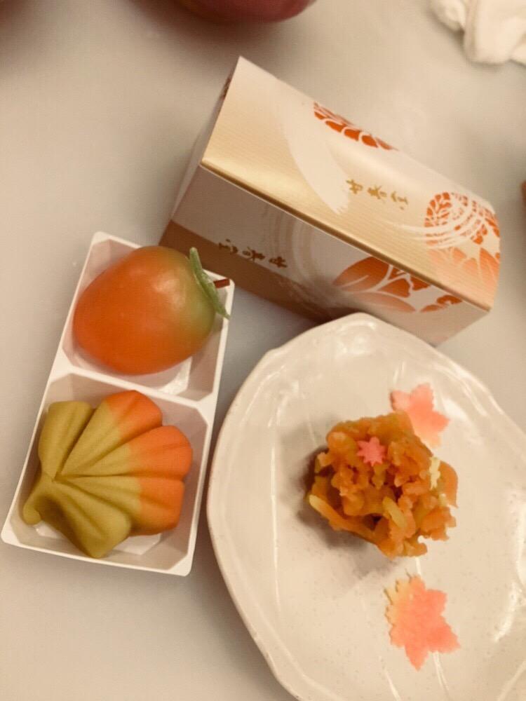 甘春堂で和菓子作り体験♪2017年10月27日10