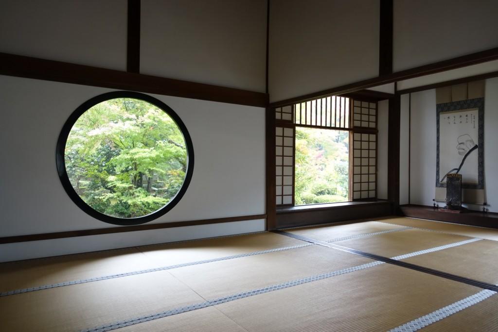 源光庵(げんこうあん)悟りの窓と迷いの窓9