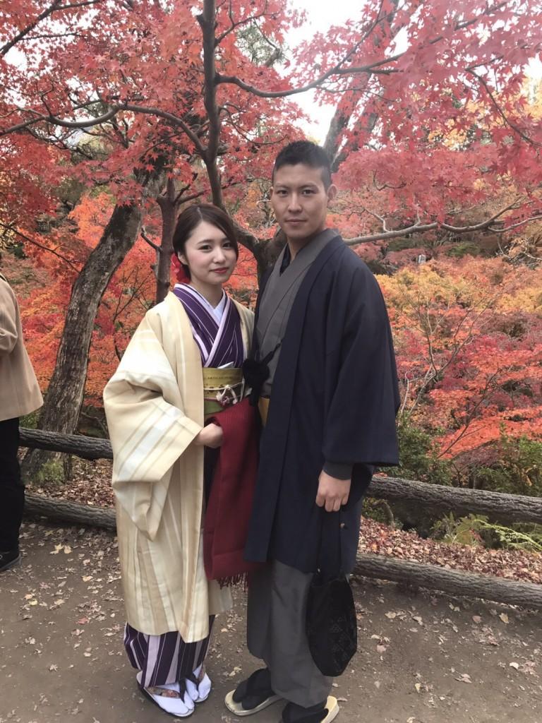 東福寺の紅葉も見頃です❣2017年11月20日1
