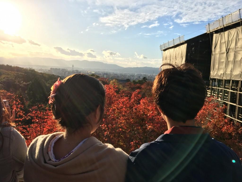 皆様、秋の紅葉ライトアップへ❣2017年11月23日1