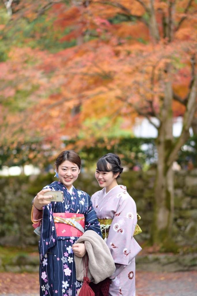 昼も夜も紅葉で大賑わいの京都2017年11月25日1