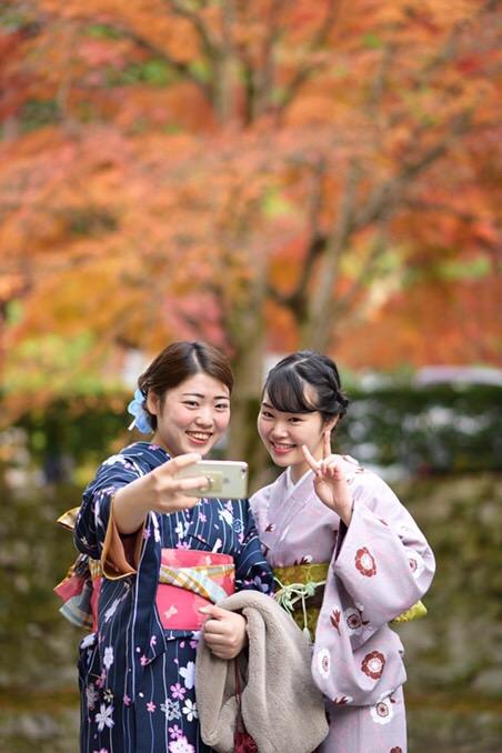 昼も夜も紅葉で大賑わいの京都2017年11月25日2