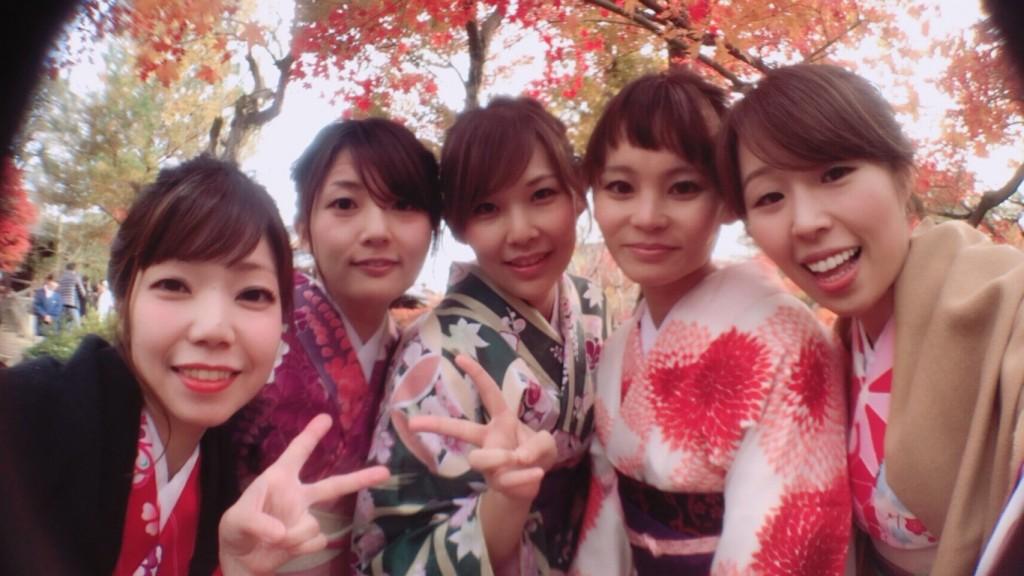 昼も夜も紅葉で大賑わいの京都2017年11月25日5