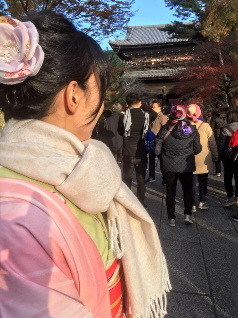 昼も夜も紅葉で大賑わいの京都2017年11月25日15