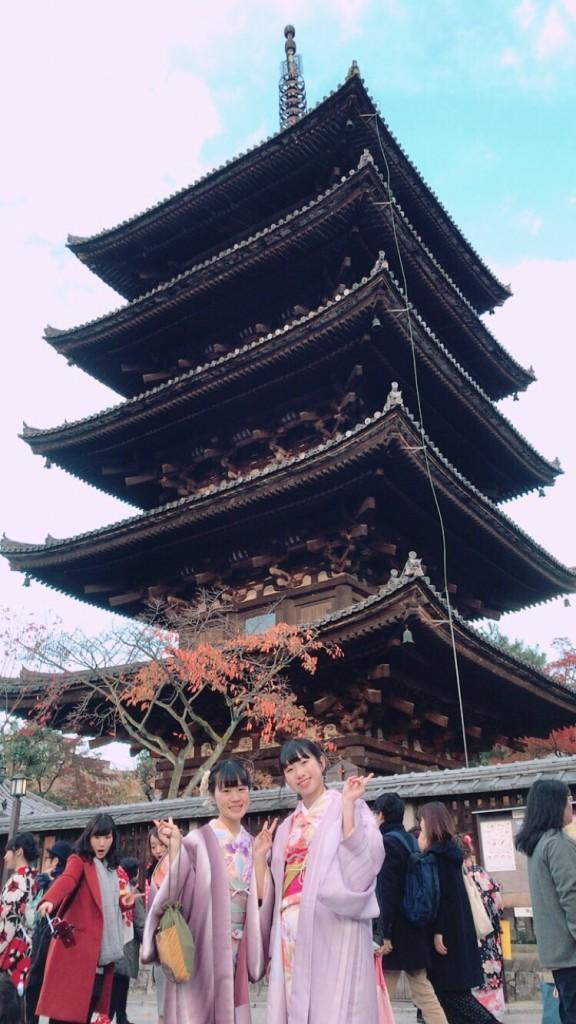 昼も夜も紅葉で大賑わいの京都2017年11月25日16