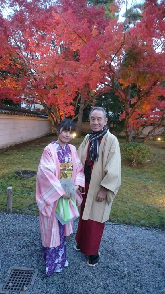 昼も夜も紅葉で大賑わいの京都2017年11月25日25