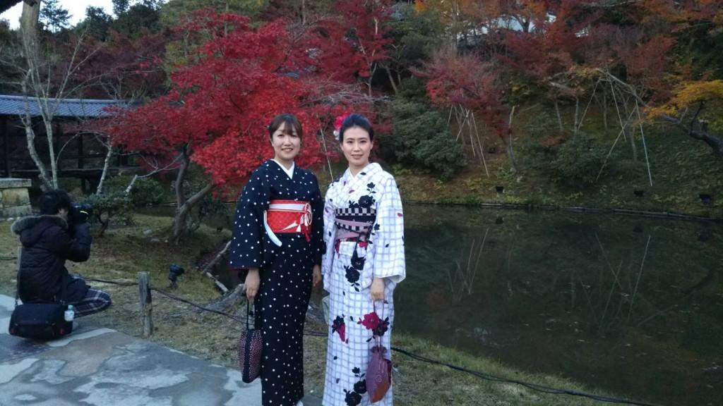 昼も夜も紅葉で大賑わいの京都2017年11月25日31