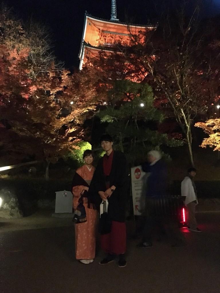昼も夜も紅葉で大賑わいの京都2017年11月25日37