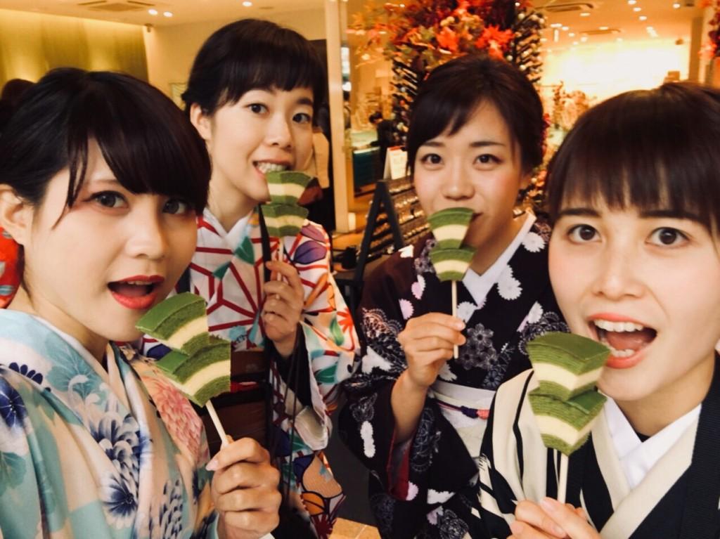 食欲の秋♡京都スイーツ巡り♪2017年11月26日5