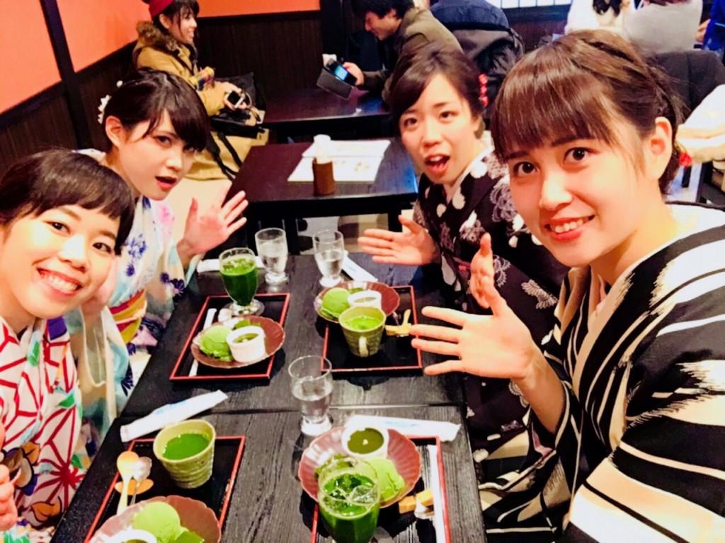 食欲の秋♡京都スイーツ巡り♪2017年11月26日6