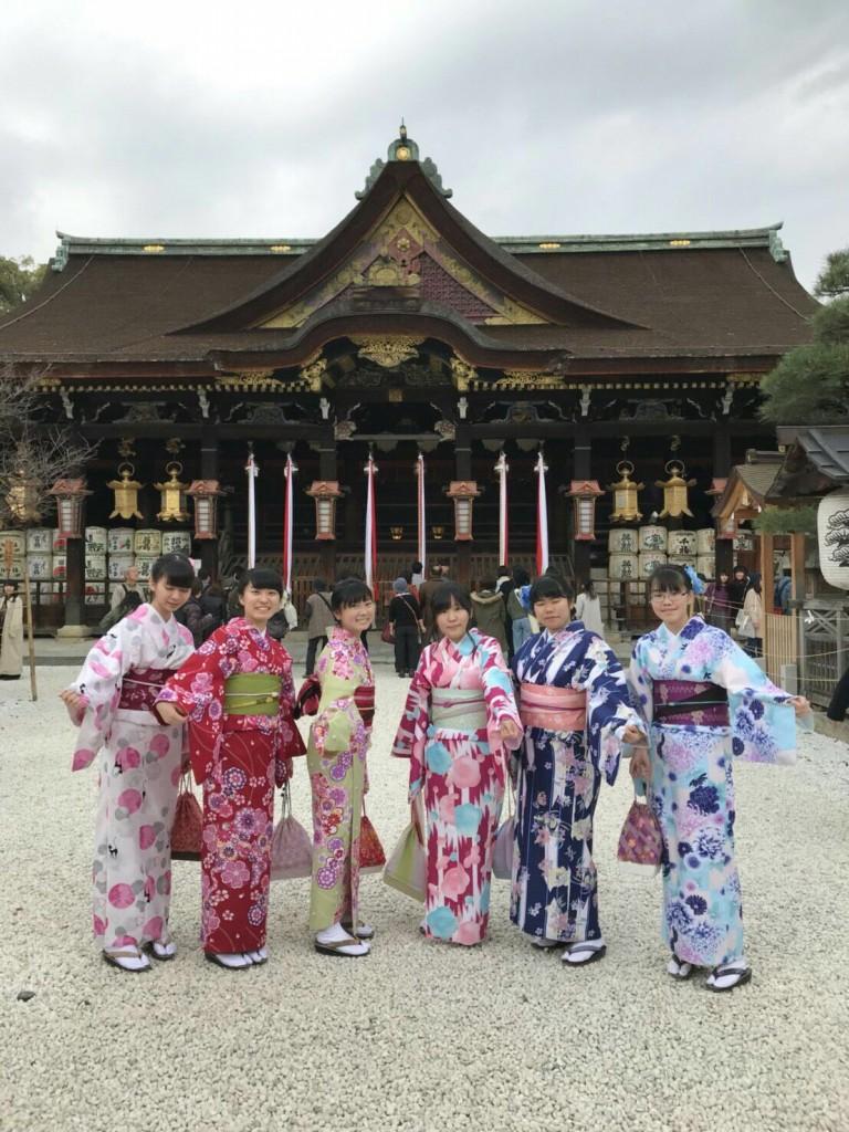 紅葉シーズンに京都修学旅行♪2017年11月30日1