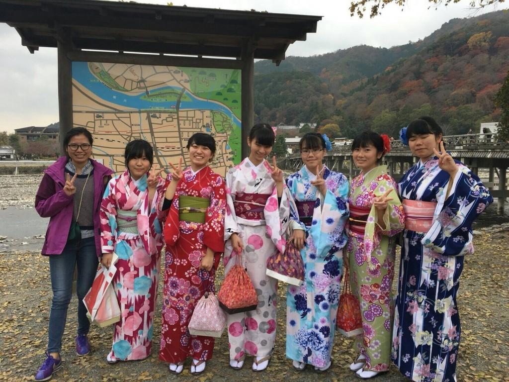 紅葉シーズンに京都修学旅行♪2017年11月30日2