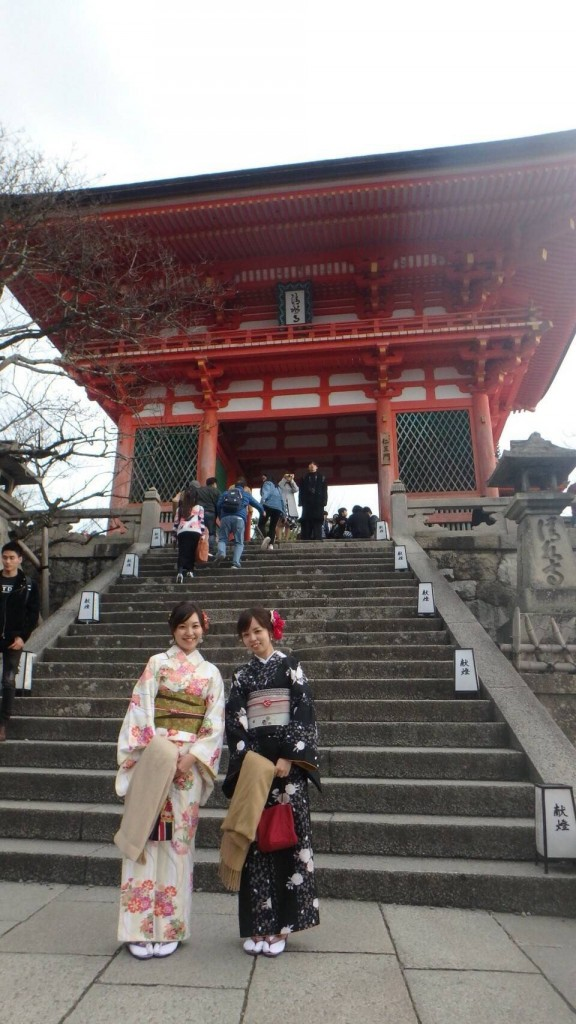紅葉シーズンに京都修学旅行♪2017年11月30日7