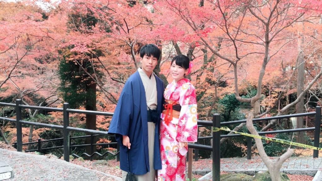 紅葉シーズンに京都修学旅行♪2017年11月30日8